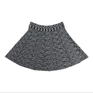 Club Monaco Space Dye Knit Skater Flare Skirt